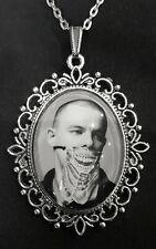 Alexander McQueen Large Silver Pendant Necklace British Fashion Designer Icon