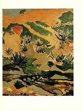 """1973 Vintage MATISSE """"LANDSCAPE WITH BROOK (WITH ALOES)"""" COLOR offset Lithograph"""