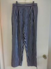 High Rise Striped Regular Size Jeans for Women