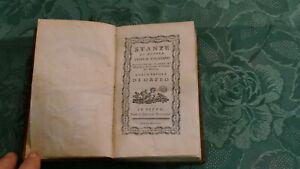 LAURENT DE MEDICIS/ FLORENCE / STANZE DI MESSER ANGELO POLIZIANO / IMPRIME 1782