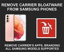 Samsung Bloatware Removal Service, Debloat, All Models Supported