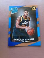 2017-18 Panini Donruss Donovan Mitchell Rookie Basketball Card #188
