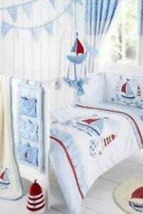 Dunelm Bed Set Bundle - Nursery room Nautical theme