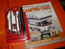 CAMPING CAR BARKAS CARAVAN B 1000 ECH 1/43 MINIATURE N° 20