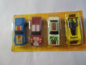 Matchbox toy racing cars, still in packet, 1988