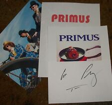 PRIMUS Signed Photo Reprint & Photos- REAL Collectible