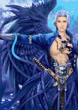 Fantasy Male Angel Counted Cross Stitch Kit. Fantasy / Angel / Fairys