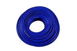 Unterdruckschlauch Vakuumschlauch Silikonschlauch Verstärkt 3mm FMIC.PRO Blau 1m