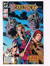 Dragonlance #7 VF TSR DC Comics Comic Book April 1989 DE23