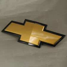 2007-2013 Chevrolet Silverado Front Grille Gold / Black Bow Tie Emblem new OEM