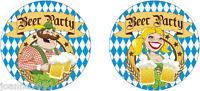 Pack of 10 Oktoberfest Beer Mats German Bavarian Festival Party Pub Decoration