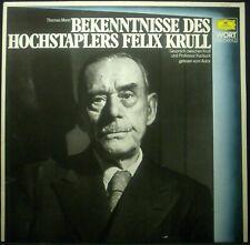 LP Thomas Mann - Legge Bekenntnisse Des Hochstaplers Felix Krull , NM