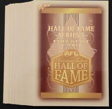 AFL Select 2018 Legacy Hall of Fame Series 5 Set