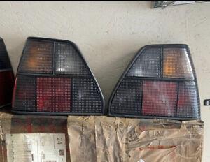 Mk2 Golf Gti 16v 8v FIFFT All Tinted Rear Lights VERY RARE set . Not Hella