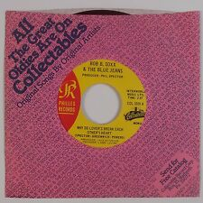 BOB B. SOXX & Blue Jeans: Why Do Lovers Break Hearts PHILLES Red Wax NM 45