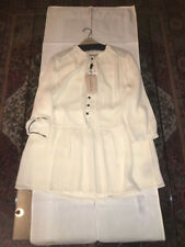 Brand New Womens Burberry Porcelain Blouse Size Large