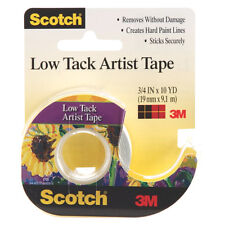 3M Low Tack Artist Tape 3/4In X 10Yd