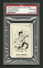 Elvis Presley 1956 Altenburg Film Stars Card PSA 10 GEM MINT