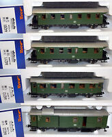 """Roco H0 44201-S Personenwagen-Set """"Donnerbüchsen"""" der DB 4-teilig NEU + OVP"""
