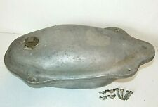 """Extra Large Goose Decoy Body Mold #13 - Cast Aluminum, Duck, Overall 19""""x 9"""""""