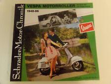 VESPA Motorroller 1948 - 86 * mit Vespa 400 & Piaggio Dreirad * Schrader