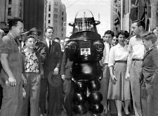 8x10 Print Robbie the Robot Forbidden Planet 1957 #RR