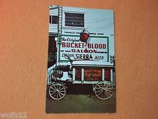 Postcard ~ Bucket of Blood Saloon ~ Virginia NV ~ with Stamp 1964