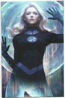 Fantastic Four 1 Marvel 2018 Stanley Lau Artgerm Invisible Woman Virgin Variant