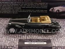 Lancia Astura Tipo 233 Corto 1936 Black 1:43 MINICHAMPS 437125332