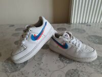 NIKE AIR FORCE1 KIDS TRAINERS SIZE 12UK