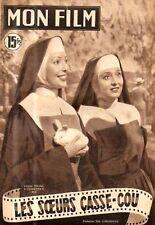 revue cine MON FILM N°258 loretta young celeste holm richard conte