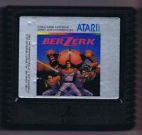 ORIGINAL Vintage TESTED 1982 Atari 5200 Berzerk Game Cartridge