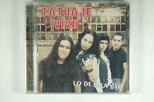TATUAJE VIVO Lo de Ella y Yo LATIN CD SEALED Denver MADE in MEXICO