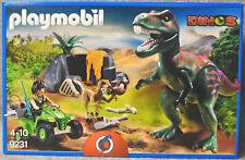 PLAYMOBIL Dinos 9231 T-rex Angriff