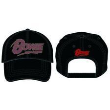 David Bowie - Flash Logo Baseball Cap - Official - NEW + TAG