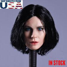 1/6 Kate Beckinsale Head Blue Eye Selene Underworld For PHICEN HotToys Body USA