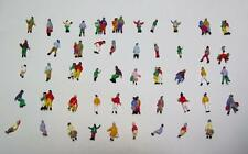 N Gauge-1:160 Scale Model Figures-50 Town People in Several Different Poses