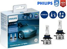 PHILIPS HIR2 LED Ultinon Essential Car Headlight Bulbs 6500K White 11012UE2X2