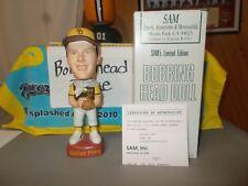 NIB 1996 SAMS INC GAYLORD PERRY SAN DIEGO PADRES BOBBLEHEAD #ED/3000 COA CARD