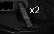 grey stitch FITS VAUXHALL OPEL FRONTERA B 98-04 2X FRONT DOOR HANDLE COVERS