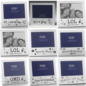 Photo Frame Over 50 Variations Mum Dad Uncle Auntie Scan Grandad Nan Birthdays