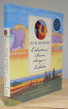 JULIE ANDREWS EMMA WALTON HAMILTON COLLECTION OF POEMS SONGS LULLABIES SIGNED X2