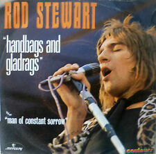 "7"" 1971 FRENCH PRESS! ROD STEWART Handbags And Gladrags"