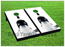Vinyl Wraps Cornhole Boards Decals Ak47 Iron Sight BagToss Game Stickers 846