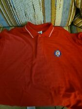Mls Vintage Chicago Fire Polo Style Shirt Large With Tags Soccer
