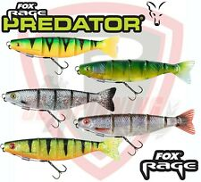 Fox Rage Lures Fishing Bait PRO SHAD JOINTED LOADED 14cm 31g Ready To Fish Pike