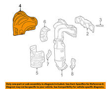 TOYOTA OEM Manifold-Exhaust-Manifold Cover 171670V030