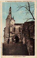 CPA  Pélerinage de Ste-Germaine - Pibrac (Hte-Gar.) - Le Grand Escalier (582286)