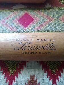 Mickey Mantle Vintage Louisville Slugger Baseball Bat