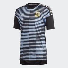 Adidas Mens Argentina World Cup 2018 Home Pre-Match Jersey Football Shirt CF1546